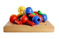 Board Game Pegs Royalty Free Stock Photos