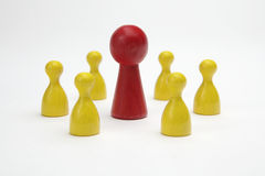 Board game pieces Royalty Free Stock Images