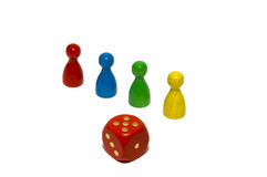 Board game pieces Stock Photography