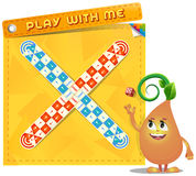 Board game Play with me Royalty Free Stock Images