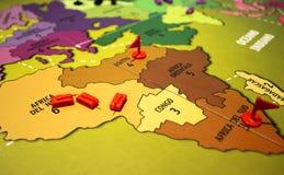 Board game Risiko royalty free stock photo