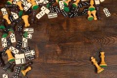 Board games still life Stock Photos