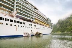 Board of liner Costa Luminosa Royalty Free Stock Photo