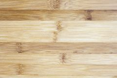 Board made of natural bamboo wood. Textures pattern background i. N light yellow cream beige brown color. Live shades of a gentle surface stock photography