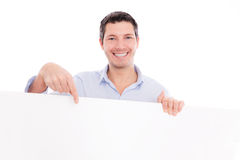 Board man casual Stock Image