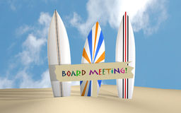 Board Meeting Stock Photo