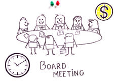 Board meeting Royalty Free Stock Images