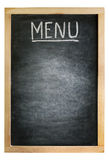 Board for menu Stock Image