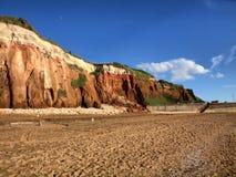 Board of North sea in UK Stock Photo