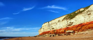 Board of North sea in UK Royalty Free Stock Photography