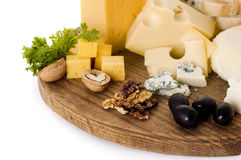 Free Board Of Cheese Stock Photo - 18843590