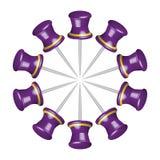 Board pin Royalty Free Stock Photo