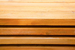 Board Pine Wood in stacks Stock Photography
