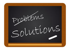 Board Problems/Solutions Stock Photography