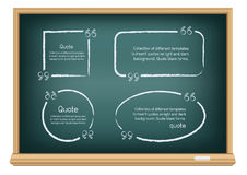 Board quote template Royalty Free Stock Photo
