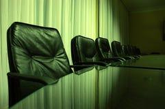 Board room. Empty board room, business concept Stock Image