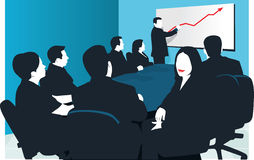 Board room Royalty Free Stock Image