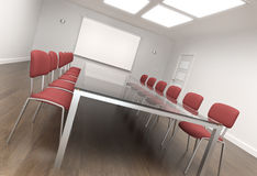 Board room vector illustration