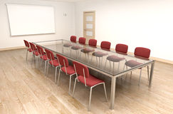 Board room stock illustration