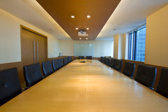 Board Room Interior Stock Image