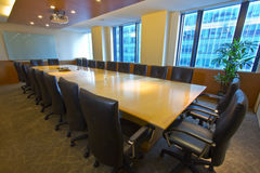 Board Room Interior Royalty Free Stock Image