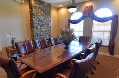 Board Room. Meeting space for professionals to meet Royalty Free Stock Photos