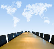 Board Room under the skies Stock Image