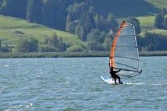 Board sailer Royalty Free Stock Image