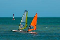 Board Sailing Royalty Free Stock Photography