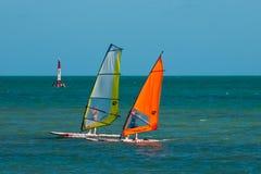 Board Sailing Royalty Free Stock Image