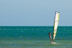 Board Sailing Stock Photo