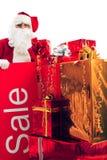 Board santa Royalty Free Stock Photos