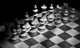 board schacket Fotografering för Bildbyråer