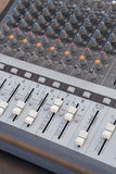 Board sound mixer Royalty Free Stock Photos