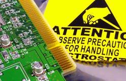 board strömkretsdatoren arkivbilder