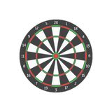 Board Target. Vector. Board Target for Military or Hunter Competition, Game, Hobby and Sniper Training. Vector illustration of Success Concept Stock Photography