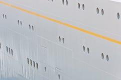 Board of a transatlantic sea liner Stock Images