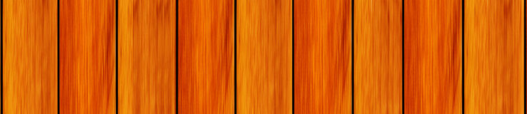 Board treated stained red walnut color consistent. And long narrow panorama royalty free stock photo