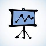 Board. Vector drawing Royalty Free Stock Image