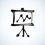 Board. Vector drawing Stock Photography