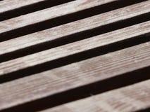Board walk retro. Faded wooden beams with horizontal lines Stock Photo