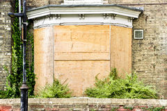Boarded up Royalty Free Stock Photo