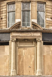 Boarded Up Doorway Royalty Free Stock Image