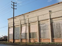 Boarded up Royalty Free Stock Photos