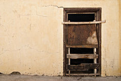 Boarded Up Old Door Royalty Free Stock Photos