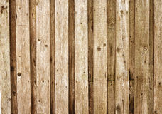 Boarded up old wooden fence Stock Photo