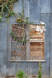 Boarded up window Stock Photography