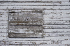 Boarded up wooden building texture Stock Photos