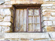 Boarded Window Royalty Free Stock Photo