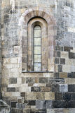 Boarded Window in a Cathedral Stock Photography